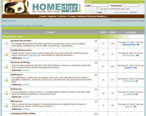 HOMEdigz Forum